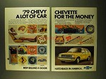 1979 Chevrolet Chevette Ad - Lot of Car for the Money