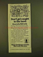 1979 U.S. Postal Service Ad - Don't Get Caught in Herd
