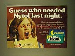 1979 Nytol Sleep Aid Ad - Who Needed