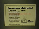 1979 The Potato Board Ad - Compare What's Inside