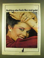 1980 Karat Gold Jewelry Ad - Nothing Else Like Real