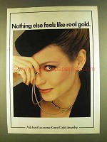 1980 Karat Gold Jewelry Ad - Nothing Else Like