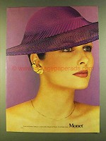 1980 Monet Earrings Ad