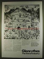 1980 Glenrothes Development Ad - The Hive of Industry