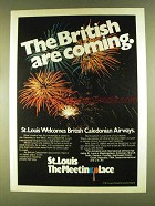 1980 St. Louis Development Ad - The British are Coming
