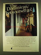 1980 The Dominican Republic Ad - Let Yourself Go