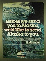 1980 Westours Alaska Ad - Before We Send You To