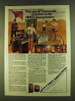 1980 Hires Root Beer Ad - Thousands of Prizes