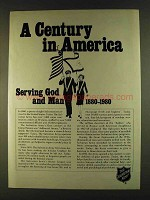1980 The Salvation Army Ad - A Century in America