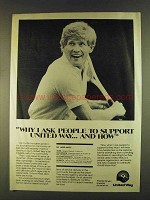 1980 United Way Ad - Dr. Laird Hayes