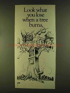 1980 U.S. Forest Service Ad - What You Lose