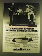 1980 Minolta EP 310 Copier Ad - Your Repairman