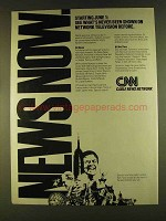 1980 CNN Cable News Network Ad - Never Been Shown
