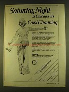1980 Rotary International Convention Ad, Carol Channing