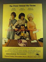 1980 9 to 5 Movie Ad - Jane Fonda, Tomlin, Dolly Parton