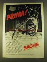 1980 Sachs Prima Moped Ad