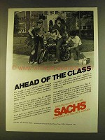 1980 Sachs Big D G-3 Moped Ad - Ahead of the Class