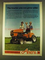1980 Ariens Lawn and Garden Tractors Ad - Grow With