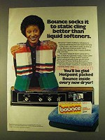 1980 Bounce Fabric Softener Ad