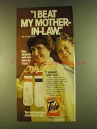 1980 Tide Detergent Ad - I Beat my Mother-in-Law