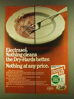 1980 Electrasol Detergent Ad - Cleans the Dry-Hards
