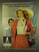 1980 Woolite Detergent Ad - Keep the Look You Love
