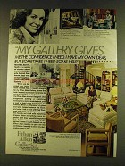 1980 Ethan Allen Galleries Ad - Gives Me Confidence