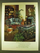 1980 Henredon Upholstered and Occasional Furniture Ad