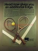 1980 AMF Head Graphite Edge and Edge Tennis Racquets Ad