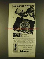 1980 Celestron C5 Telescope Ad - Take It With You