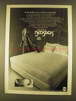 1980 Ultra Bedsack Ad - Beautiful Way to Leave Your Bed