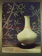 1980 Gracie Oriental Wallcoverings Ad