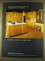 1980 Mutschler Cabinetry Ad - No Competition