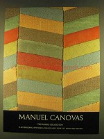 1980 Manuel Canovas Fabric Collection Ad