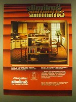 1980 Allmilmo Studio A & Zeiloset Furniture Ad