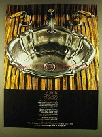 1980 Sherle Wagner Sink and Faucets Ad - A Jewel