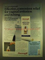 1980 Massengill Medicated Douche Ad - Effective Relief