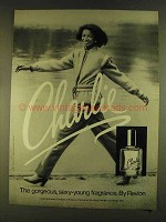 1980 Revlon Charlie Perfume Ad - Sexy-Young