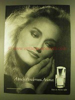 1980 Prince Matchabelli Aviance Perfume Ad - Tenderness
