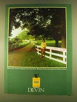 1980 Aramis Devin Cologne Ad - Country Fragrance