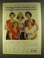 1980 Avon Championship Tennis Ad - The Biggest Name