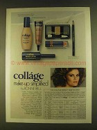 1980 Bonne Bell Collage Make-up Ad - Simplified