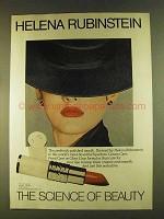 1980 Helena Rubinstein Lipcolors Ad - The Science