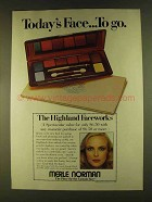 1980 Merle Norman Highland Faceworks Makeup Ad
