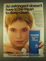 1980 Noxzema Antiseptic Skin Cleanser Ad - Deep Clean