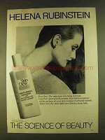1980 Helena Rubinstein Skin Dew Ad - Science of Beauty
