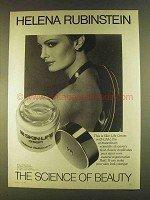 1980 Helena Rubinstein Skin Life Cream Ad - The Science