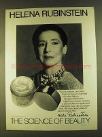 1980 Helena Rubinstein Night Care Cream Ad - Science