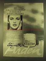 1980 Elizabeth Arden Visible Difference Ad - See Change