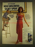 1980 Secret Solid Anti-Perspirant Ad - Reviewers Agree
